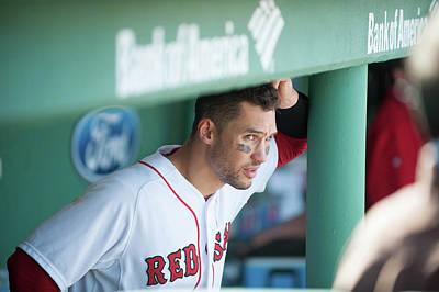 Photograph - Baltimore Orioles V Boston Red Sox by Rob Tringali