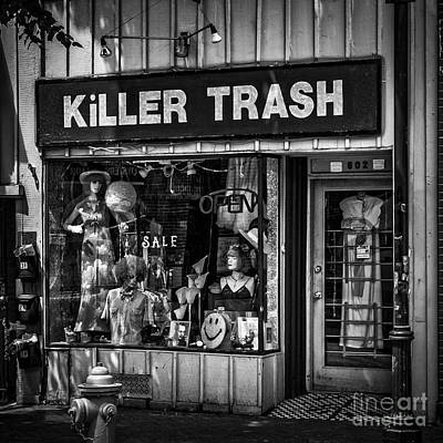 Photograph - Baltimore Storefront by Phil Cardamone