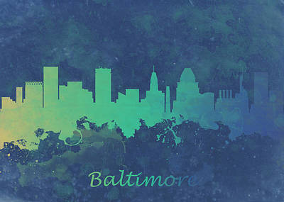 Rose - Baltimore Maryland USA - Blue by Chris Smith