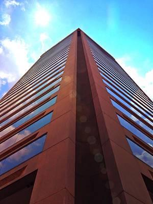 Photograph - Baltimore World Trade Center by Chris Montcalmo