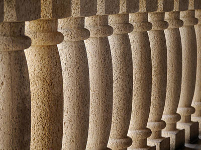 Photograph - Balusters by Richard Reeve
