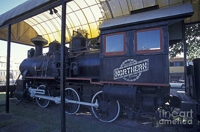 Photograph - Baldwin Steam Locomotive San Jose Costa Rica by John  Mitchell