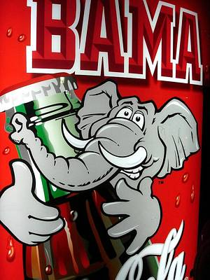 Photograph - Bama Coke Machine by Kenny Glover