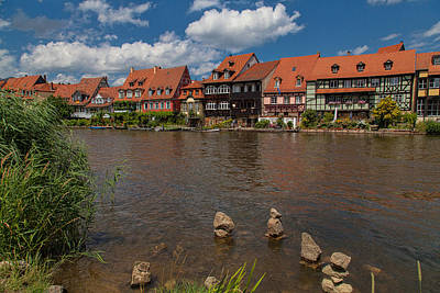 Bamberg Photograph - Bamberg - Little Venice by Shirley Radabaugh
