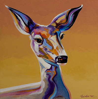 Painting - Bambi by Bob Coonts
