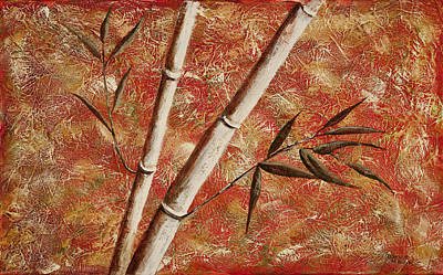 Mixed Media - Bamboo 2 by Darice Machel McGuire