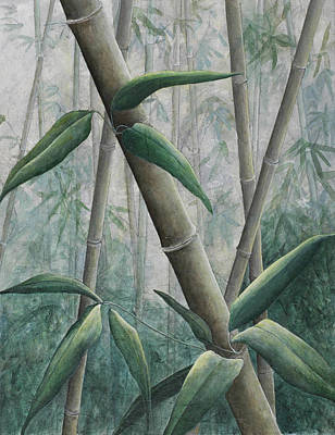 Painting - Bamboo 2 by Sandy Clift