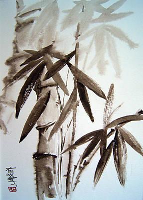 Bamboo Art Print by Alena Samsonov