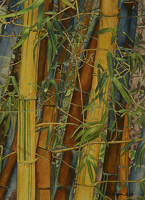 Painting - Bamboo Forest by DK Nagano