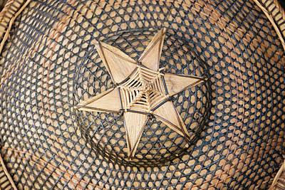 Bamboo Photograph - Bamboo Hat, Bohol Island, Philippines by Keren Su