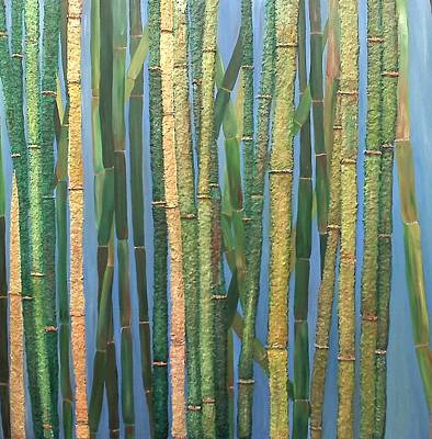 Painting - Bamboo by Leslye Miller