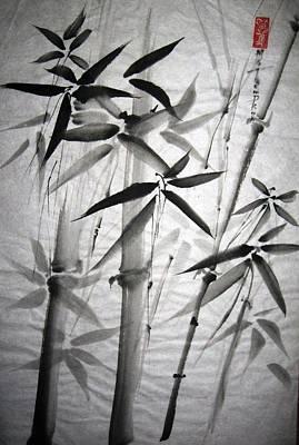 Bamboo Art Print by Mary Spyridon Thompson