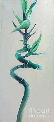 Painting - Bamboo by Michelle Deyna-Hayward
