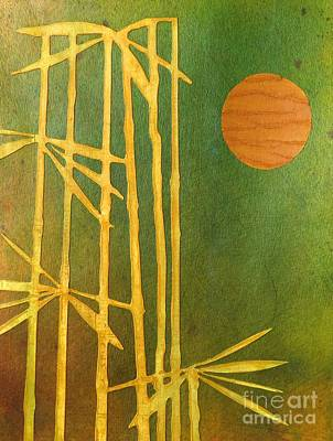 Painting - Bamboo Moon by Desiree Paquette