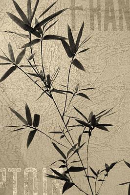 Bamboo Poesy Art Print by Jenny Rainbow