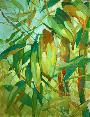 Bamboo Series Art Print