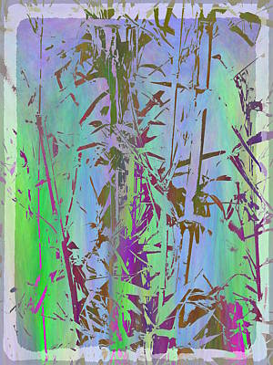 Digital Art - Bamboo Study 1 by Tim Allen