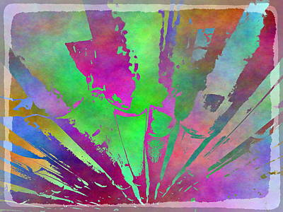 Digital Art - Bamboo Study 2 by Tim Allen