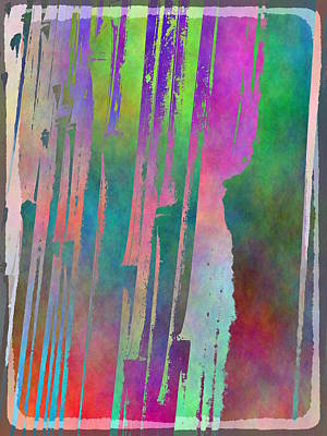 Digital Art - Bamboo Study 5 by Tim Allen