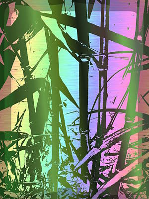 Digital Art - Bamboo Study 8 by Tim Allen