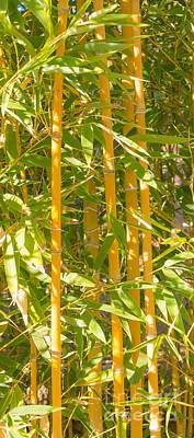 Bamboo Vertical Art Print by Christina Rahm