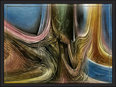 Pastel - Bambooscape2 '09  by Glenn Bautista