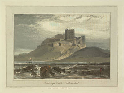 Bamborough Castle Art Print