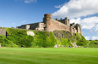 The Rolling Stones Royalty Free Images - Bamburgh Castle close up Royalty-Free Image by David Head