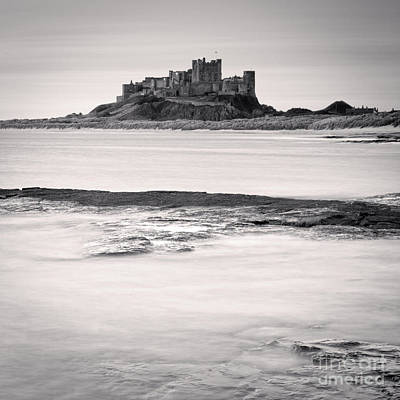Photograph - Bamburgh Castle Northumberland by Colin and Linda McKie