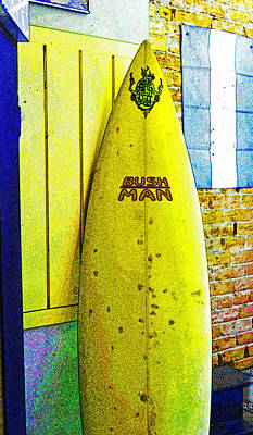 Photograph - Banana Board by Holly Blunkall
