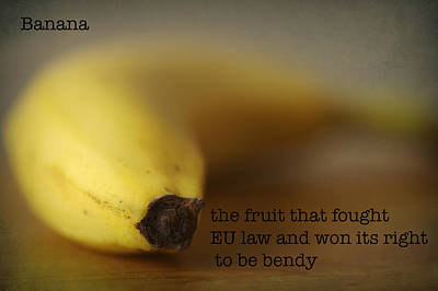 Photograph - Banana by Christopher Rees