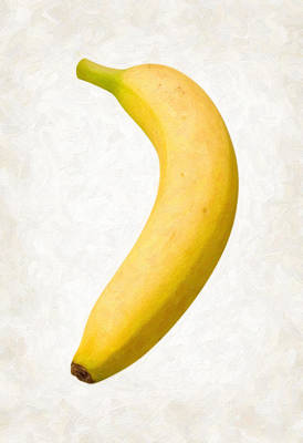 Banana Painting - Banana by Danny Smythe