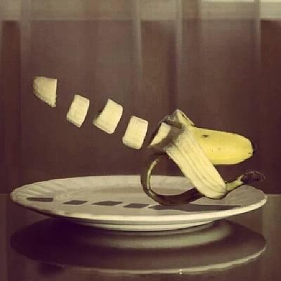Banana Photograph - Banana Ninja #banana #platano #funny by Javier Sánchez