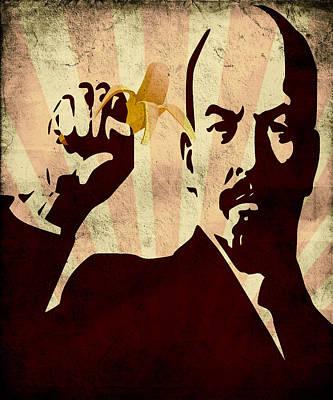 Lenin Digital Art - Banana Republic by Renato Armignacco