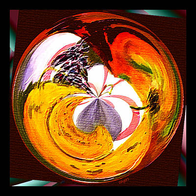 Painting - Banana Swirl by Paula Ayers