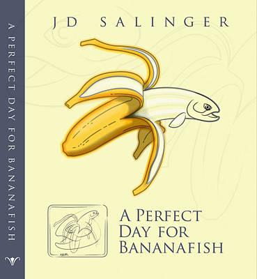 Bananafish Cover Art Print by Larry Romberg