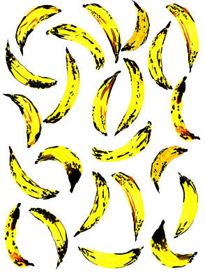Yellow Bananas Painting - Bananas by Amy Sia