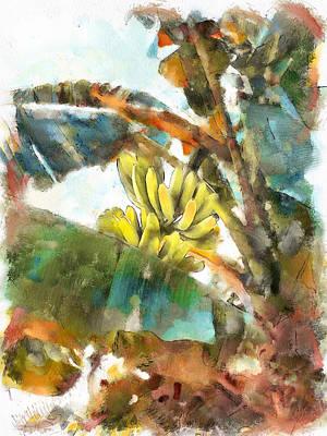 Digital Art - Bananas At Lamma Island by Yury Malkov