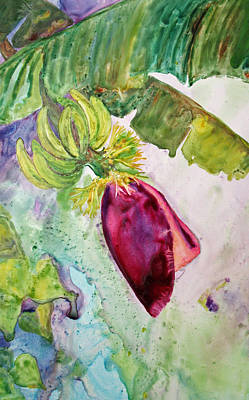 Painting - Bananas Dominica by Patricia Beebe