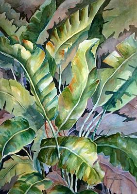 Painting - Bananas Gone Wilde  by Roxanne Tobaison