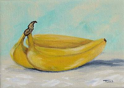 Yellow Bananas Painting - Bananas IIi by Torrie Smiley