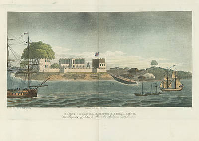 Slaves Photograph - Bance Island by British Library
