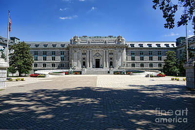Photograph - Bancroft Hall by Olivier Le Queinec