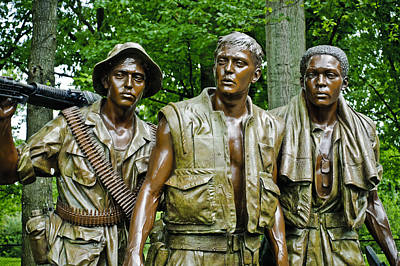 Patriotic Bronze Photograph - Band Of Brothers by Christi Kraft