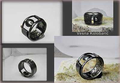 Sterling Silver Jewelry - Band Ring by Vesna Kolobaric