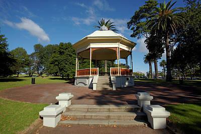 Rotunda Photograph - Band Rotunda, Auckland Domain by David Wall