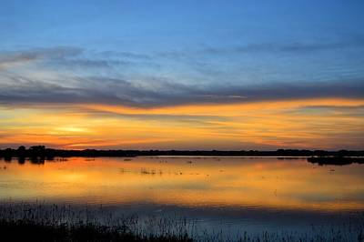 Photograph - Banded Sunrise by Bonfire Photography