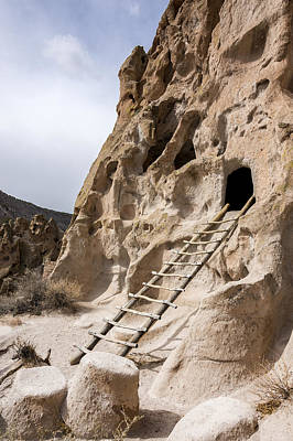Photograph - Bandelier Caveate - Bandelier National Monument New Mexico by Brian Harig
