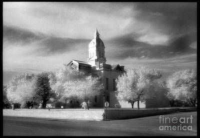 Bandera County Courthouse Art Print