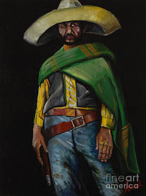 Bandito Art Print by George Ameal Wilson